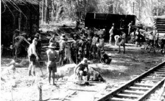 记住这一刻:日本修建死亡铁路 十万劳工丧命